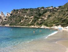 Nádherná pláž Grotticelle